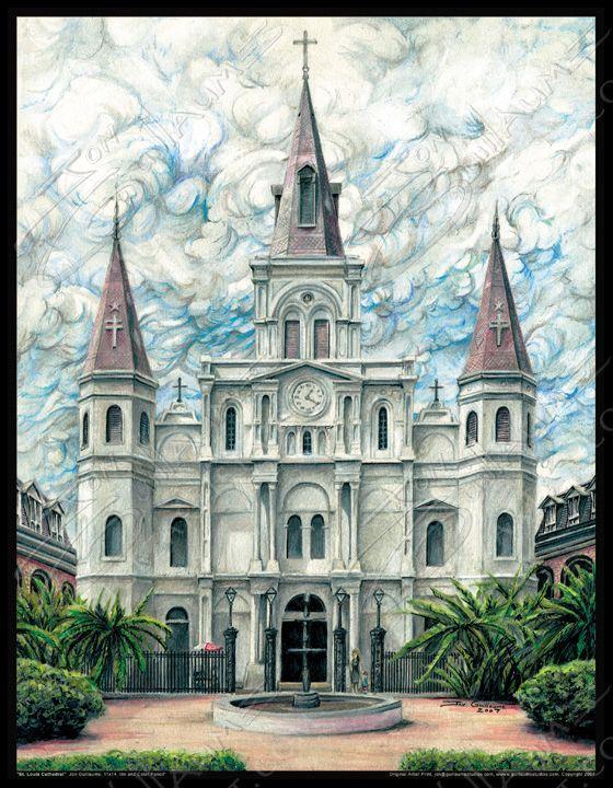 St Louis Cathedral Big Ez Artist